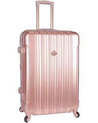 "Kensie Alma 28"" Check-in Luggage - Pink"