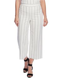 Vince Camuto Femme Solide carrière Work Wear Cropped Pants Pantalon BHFO 8660