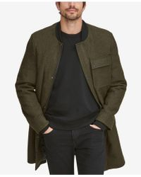 Marc New York - Baseball Coat With Removable Hood - Lyst