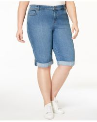 Style & Co. - Plus Size Denim Shorts, Created For Macy's - Lyst