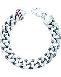 Tommy Hilfiger Gents Stainless Steel Chain Bracelet2700261 - Metallic