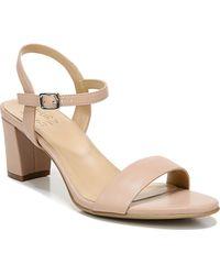 Naturalizer Bristol Ankle Strap Sandals - Natural