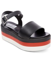 Steve Madden - Holly Flatform Sandals - Lyst