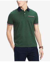 Tommy Hilfiger - Homer Custom Fit Polo Shirt, Created For Macy's - Lyst