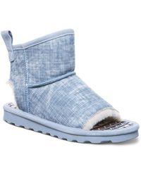 BEARPAW Molly Sheepskin Boots - Blue