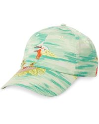 Polo Ralph Lauren | Graphic Embroidered Chino Baseball Cap | Lyst