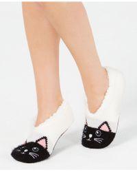 Charter Club Cat Slipper Socks, Created For Macy's - Gray