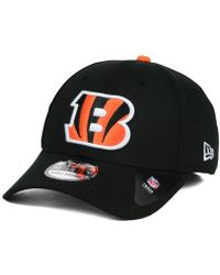 buy popular 19247 f3792 KTZ Cincinnati Bengals Thanksgiving 39thirty Cap in Black for Men - Lyst