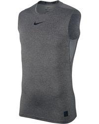 Nike - Men's Pro Sleeveless Mesh T-shirt - Lyst