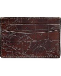 Patricia Nash - Men's Leather Map Card Case - Lyst