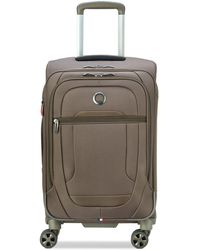 "Delsey Helium Dlx 22"" Softside Carry-on Spinner, Created For Macy's - Multicolour"