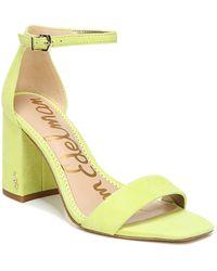 Sam Edelman Daniella Dress Sandals - Yellow