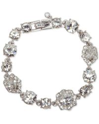 Givenchy | Stone And Crystal Link Bracelet | Lyst