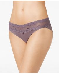 Natori - Bliss Perfection Lace-waist Bikini Underwear 756092 - Lyst
