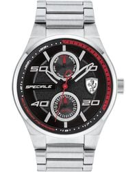 Ferrari - Men's Speciale Stainless Steel Bracelet Watch 44mm 0830358 - Lyst