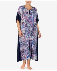 Ellen Tracy - Plus Size Printed Caftan - Lyst