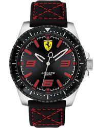 Ferrari - Xx Kers Black Nylon Canvas Strap Watch 44mm - Lyst