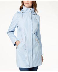 Ivanka Trump | Hooded Solid Raincoat | Lyst