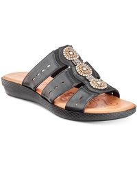 Easy Street Nori Sandals - Black