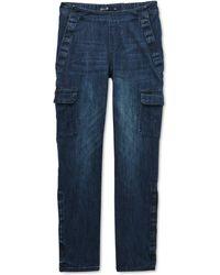 Seven7 Slim-leg Jeans - Blue
