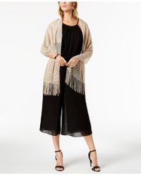 INC International Concepts - I.n.c. Knit Fringe Evening Wrap, Created For Macy's - Lyst