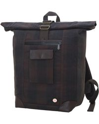 Token Waxed Montrose Backpack - Black