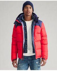 Polo Ralph Lauren El Cap Hooded Down Jacket - Red
