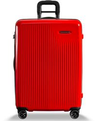 "Briggs & Riley Sympatico 25"" Hardside Check-in Spinner - Red"