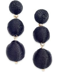INC International Concepts | Gold-tone Threaded Ball Drop Earrings | Lyst