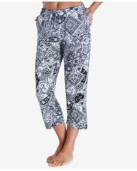 Ellen Tracy - Yours To Love Capri Pajama Pants - Lyst
