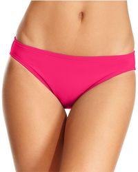 Michael Kors | Bra-sized Logo Halter Bikini Top | Lyst