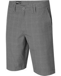 """O'neill Sportswear - Delta Plaid 22"""" Chino Shorts - Lyst"""