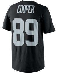 Nike - Men's Amari Cooper Oakland Raiders Pride Player T-shirt - Lyst