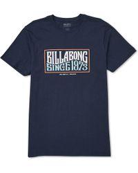 Billabong - Wave Daze Graphic T-shirt - Lyst