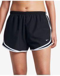 Nike | Plus Size Shorts, Dri-fit Tempo Track | Lyst