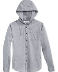 Ezekiel - Men's Blink Hooded Shirt - Lyst