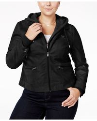 American Rag - Trendy Plus Size Layered-look Jacket, Only At Macy's - Lyst