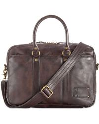 Patricia Nash Men's Roma Leather Briefcase