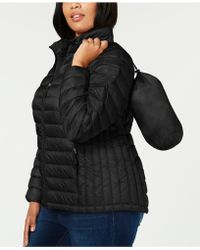 32 Degrees - Plus Size Packable Puffer Down Coat - Lyst
