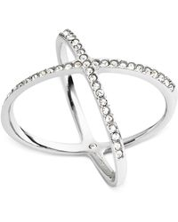 Michael Kors - Circle X Ring - Lyst