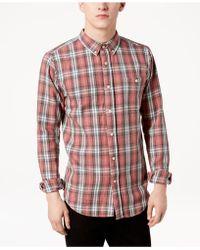 Ezekiel - Elmer Plaid Shirt - Lyst