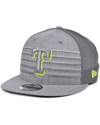 KTZ - Texas Rangers Cyber Gray Trucker 9fifty Cap - Lyst