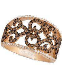 Le Vian - Diamond Lattice Ring (7/8 Ct. T.w.) In 14k Rose Gold - Lyst