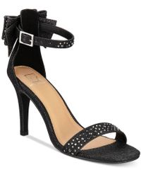 Material Girl - Beverly Bow Dress Sandals, Created For Macy's - Lyst