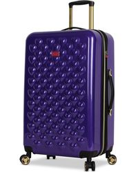 """Betsey Johnson - Heart To Heart 26"""" Hardside Expandable Spinner Suitcase - Lyst"""