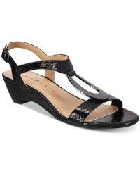 Karen Scott - Carmeyy Wedge Sandals, Created For Macy's - Lyst