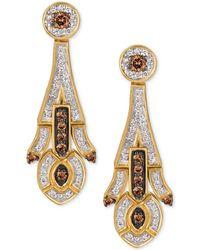Le Vian - Diamond Drop Earrings (5/8 Ct. T.w.) In 14k Gold - Lyst