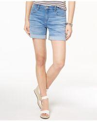 Tommy Hilfiger Cuffed Shorts - Blue