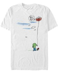 Fifth Sun Don't Blame Me Short Sleeve Crew T-shirt - White
