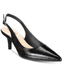 Alfani - Women's Babbsy Pointed-toe Slingback Pumps - Lyst